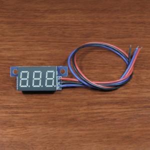 7 Segment LED Voltmeter