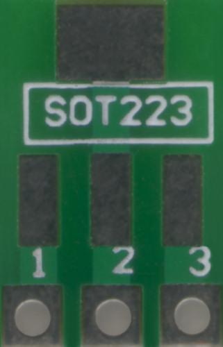SOT223 PCB Adaptor