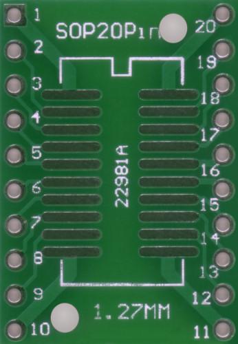 20Pin SOIC PCB Adaptor