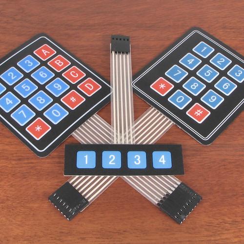 Membrane Matrix Keypads