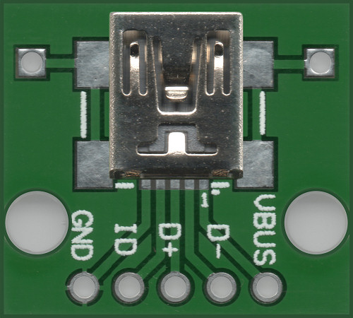 PCB Adaptor Mini USB