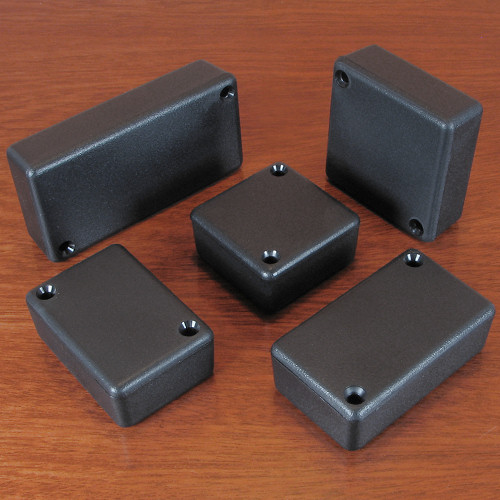 Hammond Black Enclosures